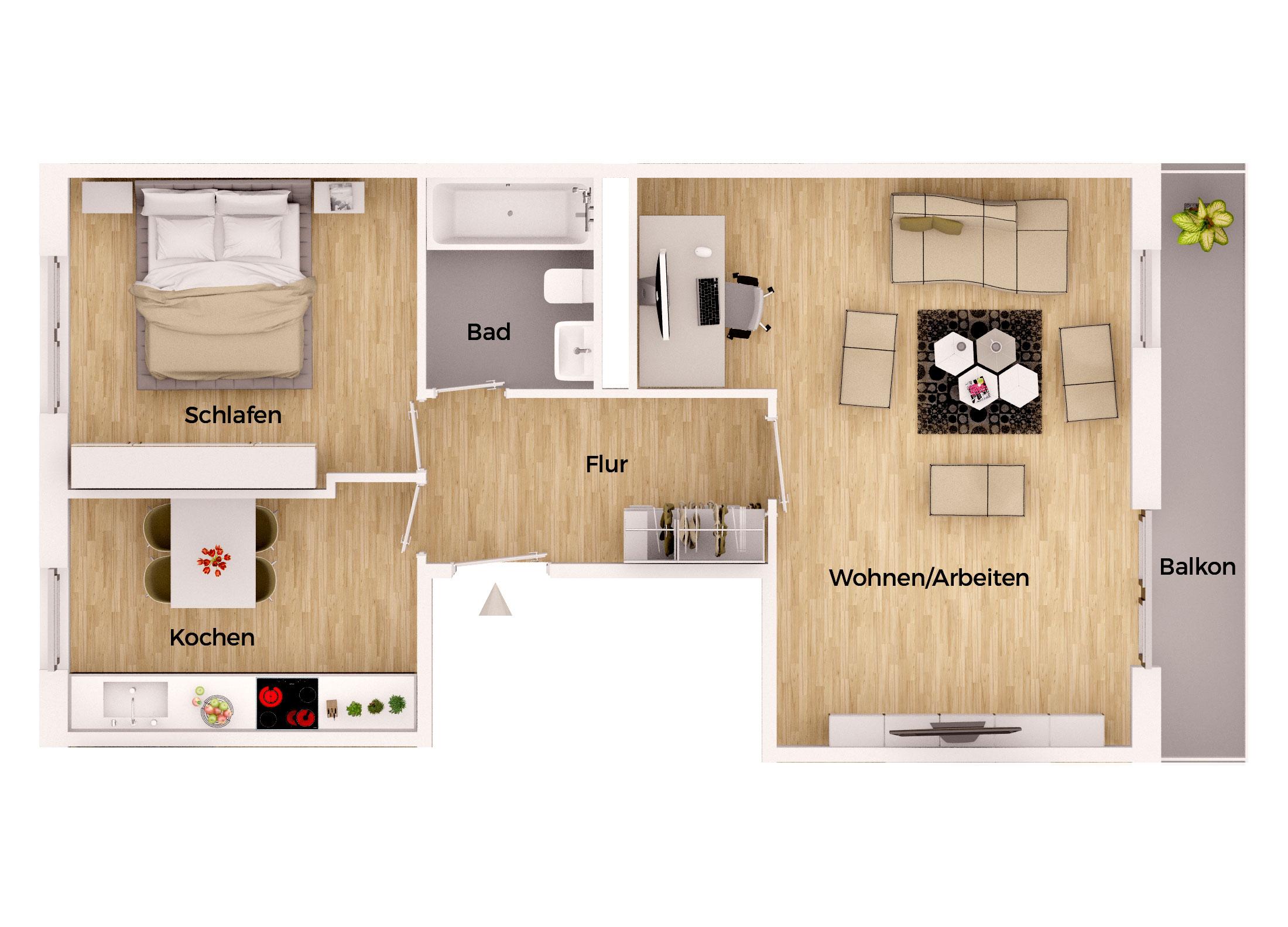 preiswerte und sanierte mietwohnungen in meiningen. Black Bedroom Furniture Sets. Home Design Ideas